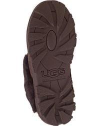 UGG - Brown Coquette Slipper Chocolate Suede - Lyst