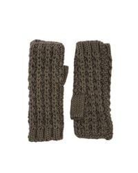 French Connection | Gray Midnight Tassel Arm Warmers | Lyst