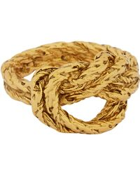 Aurelie Bidermann | Metallic Lasso Ring | Lyst