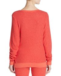 Wildfox - Pink Christmas Tree Graphic Sweatshirt - Lyst