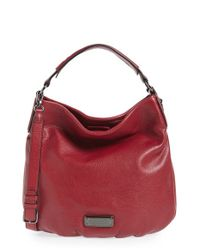 Marc By Marc Jacobs | Red New Q Hillier Cross-Body Hobo | Lyst