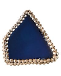 Roni Blanshay - Blue Jagged Ring - Lyst