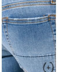 People - Blue Skinny Fit Jeans - Lyst