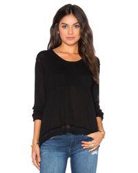 Wilt | Black Shrunken Layered Sweater | Lyst