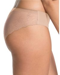 Spanx - Natural Undie-tectable Lace Bikini - Lyst