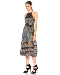 Zimmermann - Multicolor Esplanade Spiral Dress - Lyst