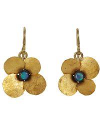 Judy Geib - Metallic Opal Hydrangea Earrings - Lyst