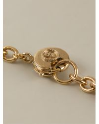 Sonia Rykiel | Metallic Heart Logo Pendant Necklace | Lyst