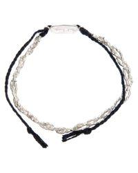 Paul Smith - Metallic Plait Bracelet for Men - Lyst