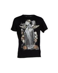 John Richmond | Black T-shirt for Men | Lyst