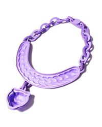 EK Thongprasert | Purple Violet Jaguar Necklace | Lyst
