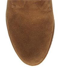 Franco Sarto | Brown Amerosa Suede Wedge Ankle Boots | Lyst