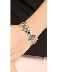 Pamela Love - Metallic Eye Link Bracelet - Lyst