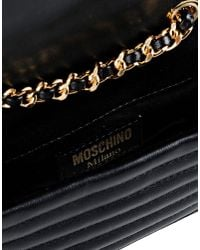 Moschino | Black Shoulder Bag | Lyst
