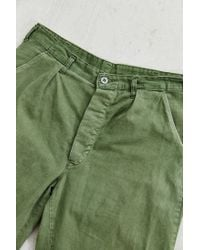 Urban Renewal - Green Vintage Swedish Military Pant for Men - Lyst
