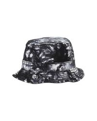 True Religion | Black Marble Dye Bucket Hat for Men | Lyst
