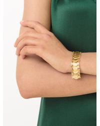Kirat Young | Metallic Coin Link Bracelet | Lyst