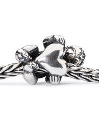 Trollbeads - Metallic Guardian Of Hearts Bead - Lyst