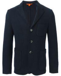 Barena - Blue Three Button Blazer for Men - Lyst