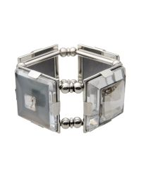 Giorgio Armani | Gray Bracelet | Lyst