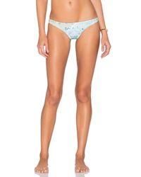 Basta Surf   Blue X Gray Malin Popoyo Reversible Bikini Top   Lyst