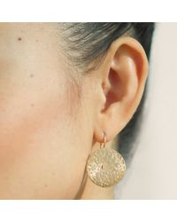 Dutch Basics - Metallic Coins Earrings Rose Gold - Lyst