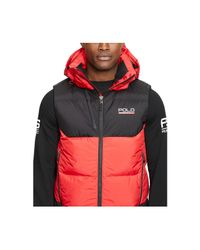 Polo Ralph Lauren | Red Sideline Down-feathers Vest for Men | Lyst