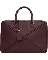 Loewe | Purple Cross Soft Suitcase 45 | Lyst