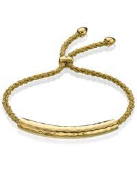Monica Vinader - Metallic Esencia Friendship Bracelet - Lyst