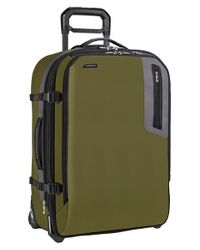 Briggs & Riley | Green 'explore' Medium Wheeled Upright Suitcase for Men | Lyst