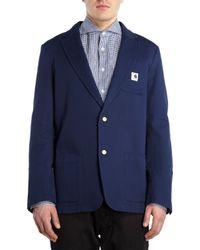 Adam Kimmel - Blue Twill Sportcoat for Men - Lyst