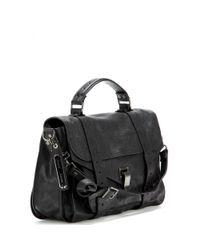 Proenza Schouler | Black PS1 Medium Leather Tote | Lyst