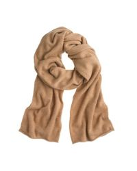 J.Crew | Natural Collection Italian Cashmere Wrap | Lyst
