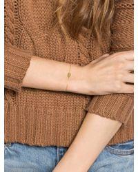BaubleBar | Metallic Dog Tag Bracelet | Lyst