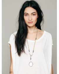 Free People | Metallic Reflections Rosary | Lyst
