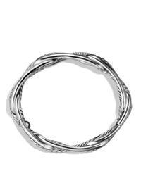 David Yurman | Metallic Labyrinth Link Bracelet With Diamonds | Lyst