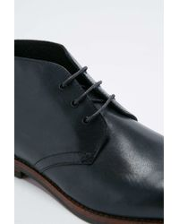 H by Hudson | Houghton Black Leather Boots for Men | Lyst