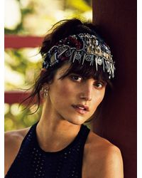 Free People - Red Womens Marrakesh Headpiece - Lyst