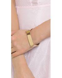 Miansai | Metallic Hudson Cuff - Gold | Lyst