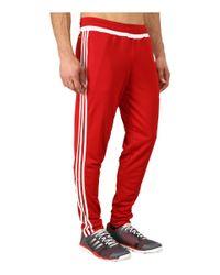 Adidas Originals | Red Tiro 15 Training Pant for Men | Lyst