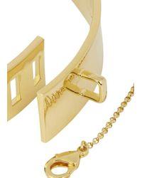 Eddie Borgo | Metallic 18 Karat Gold Plated Choker | Lyst