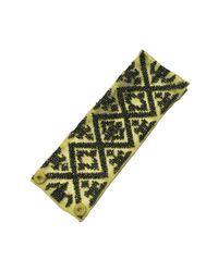 Mignonne Gavigan | Metallic Ikat Bracelet Lime / Gunmetal | Lyst
