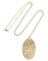 Brooke Gregson | Metallic Scorpio 14-karat Gold Diamond Necklace | Lyst