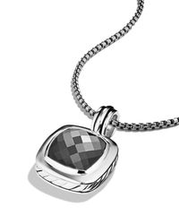 David Yurman | Metallic Albion Pendant With Hematite | Lyst