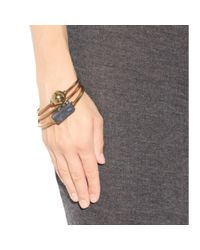 By Malene Birger - Metallic Embellished Bracelets - Lyst