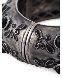 DSquared² - Metallic Embellished Bangle - Lyst