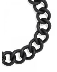 BaubleBar | Metallic Rolo Chain Collar-black | Lyst