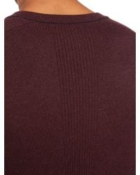 Calvin Klein | Brown Caleb V Neck Long Sleeve Sweater for Men | Lyst