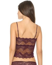 Only Hearts | Purple So Fine Lace Cami - Wine | Lyst