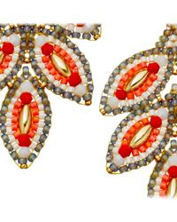 Miguel Ases | Red Opalite Cherry Earrings | Lyst